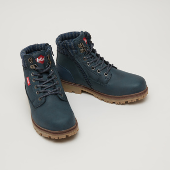 Lee Cooper High Top Lace-Up Shoes