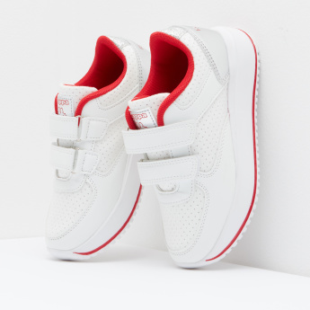 Kappa Running Shoes with Hook and Loop Closure