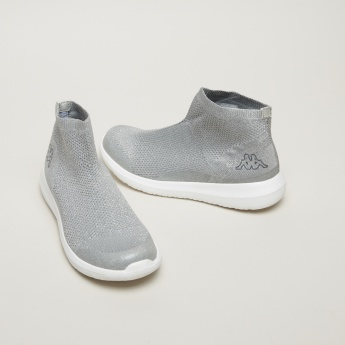 Kappa Textured Ankle High Sneakers