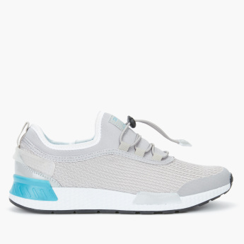 Kappa Textured Running Shoes with Drawstring