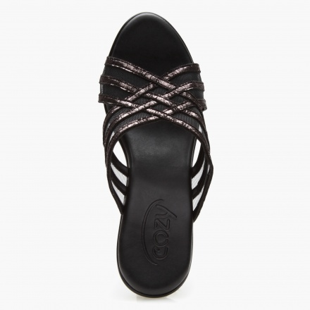 Cozy Criss-Cross Sandals