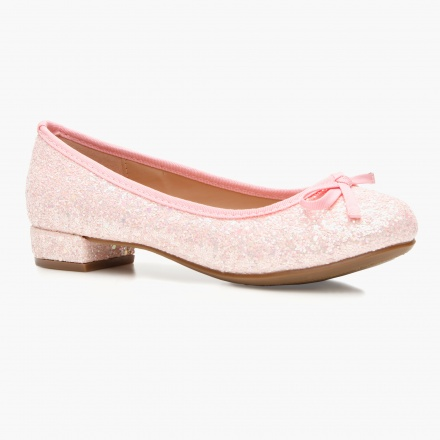 Little Missy Shimmer Ballerina Shoes