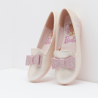 Barbie Embellished Ballerina with Slip-On Closure