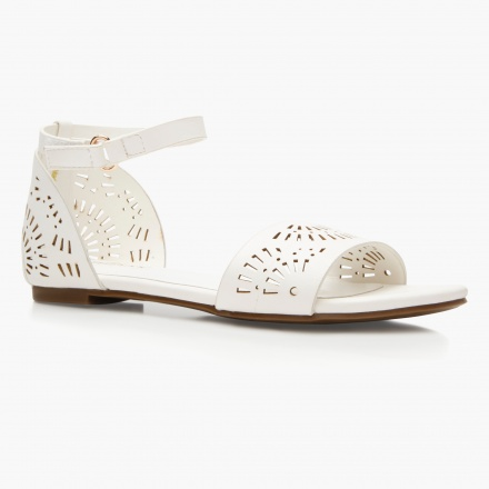 Little Missy Laser Cut Sandals