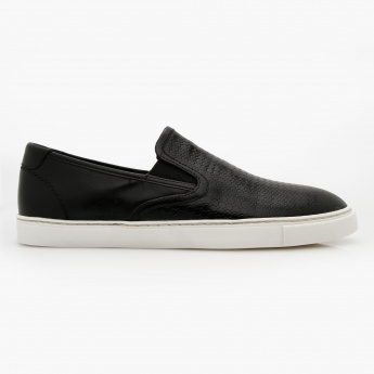 c53eefd5b1 Lee Cooper Textured Slip-on Sneakers | Black | Sneakers