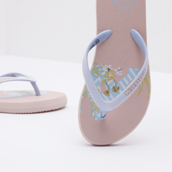 Kappa Printed Slides with Slip-On Closure