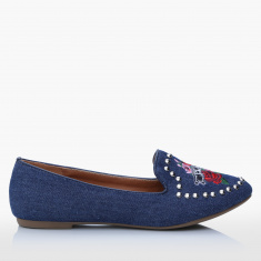 Missy Embellished Slip-On Shoes