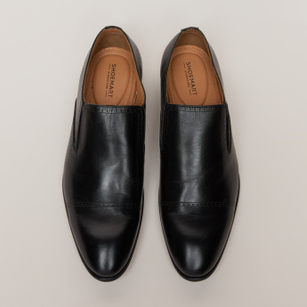 Slip-On Formals with Stitch Detail and Elasticised Gussets
